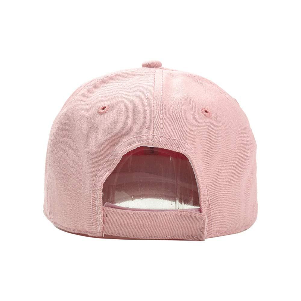 Amazon.com: XHD-caps Hat Nueva Venta Caliente Del Verano Moda Unisex Gorra De Béisbol Femenina Sombrero Snapback Hip-hop Ajustable Hombres (Color : Pink, ...