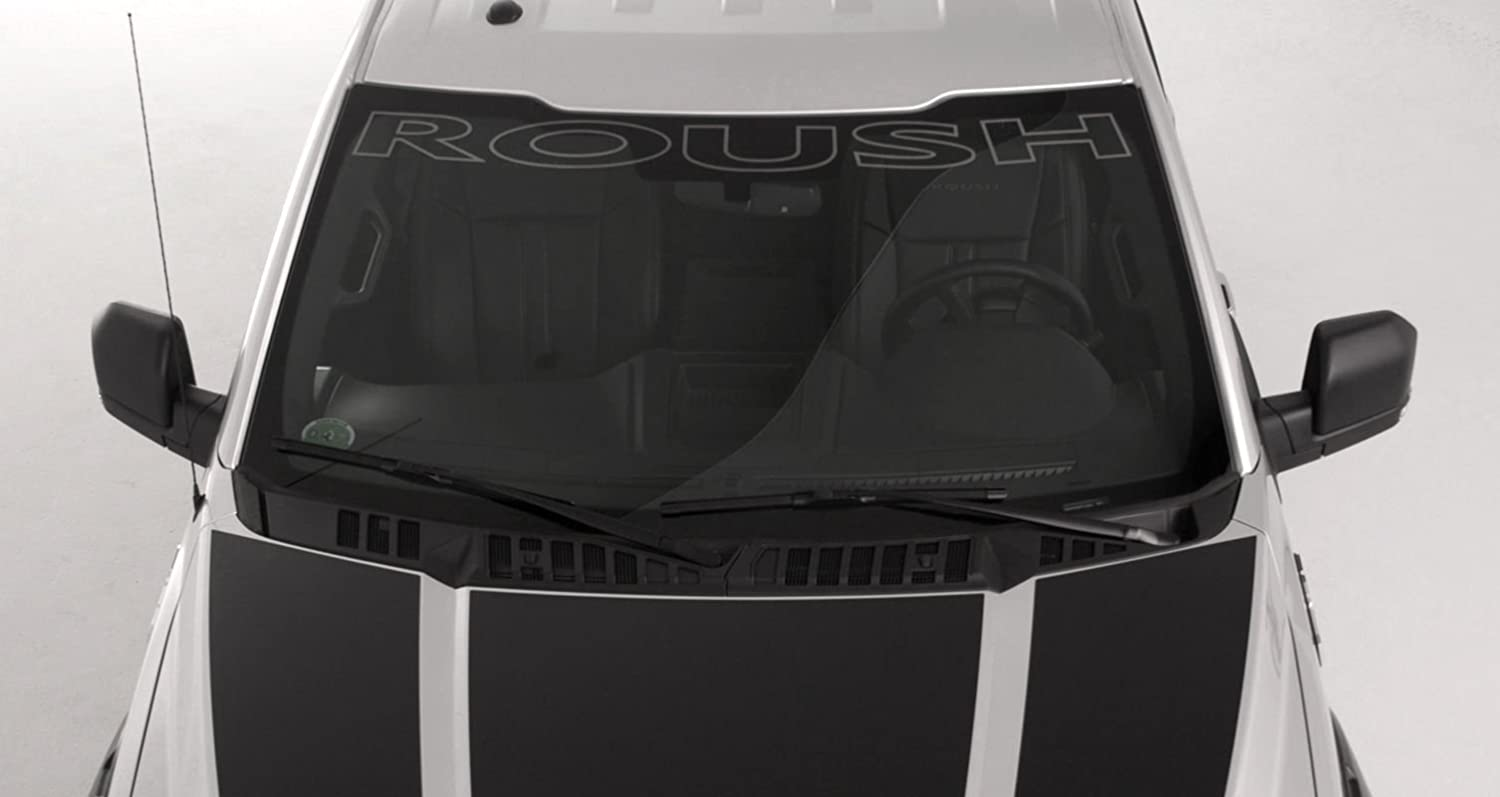 2015-2018 F-150 ROUSH Front Windshield Window Banner 422016