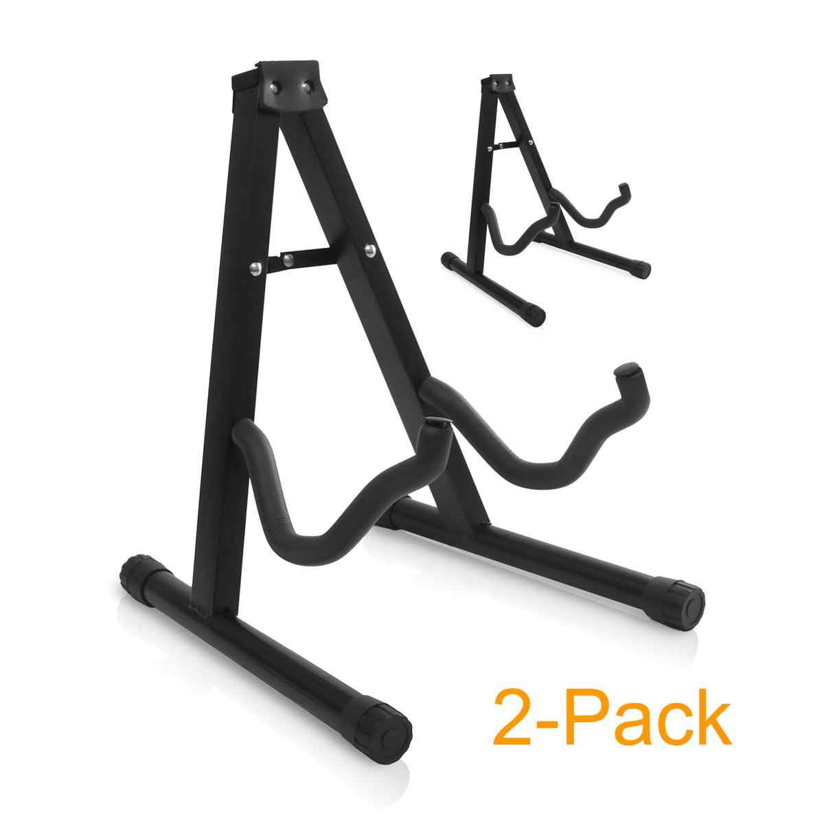 9horn Foldable Guitar Stand for Accoustic Electric Bass Guitars 2-Pack