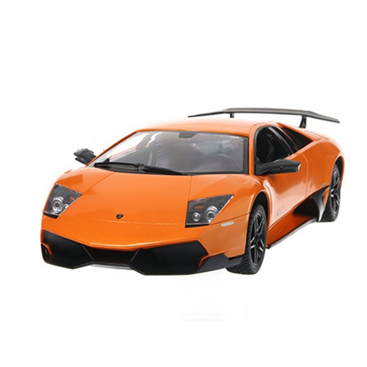 Amazon Com Insten 10 1 14 Lamborghini Murcielago Orange R C Radio