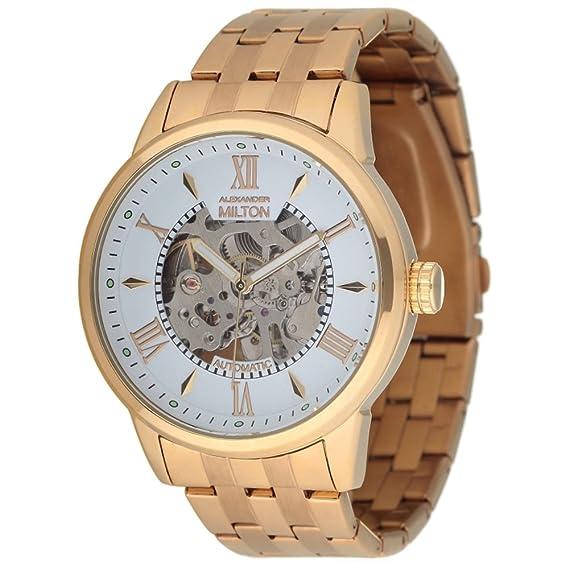 Alexander Milton reloj automático, acero inoxidable – MODELE Kronos – Dore