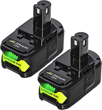 Lithium ion P108 P104 P105 P103 P107 P109 Cordless Power Tools Battery 5.0Ah High Capacity Replacement for Ryobi 18V Battery ONE