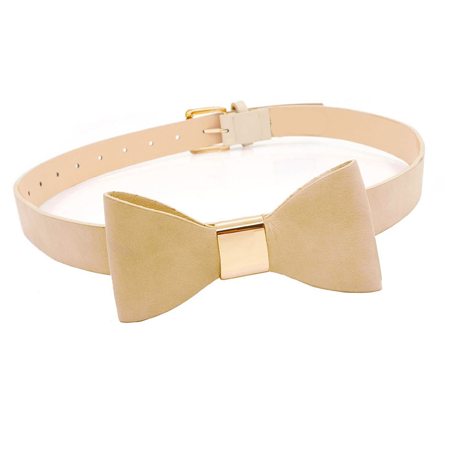 "Adorable Women's Belt with Big Bow ""Buckle"" - 1"" wide"