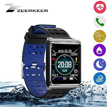 zeerkeer Smartwatch con Pulsómetro multifunción ...