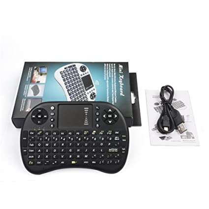 Mini Wireless Keyboard with Touchpad Air Mouse Combo Teclado for HDPC Win7 Pad for Xbox360 for