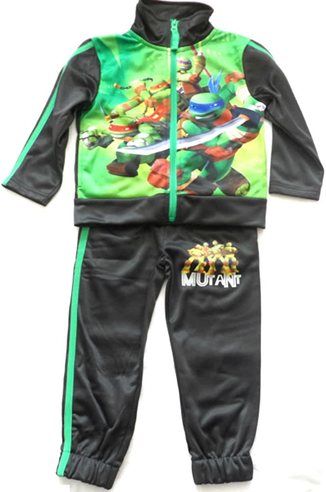 Turtles Tuta Tartarughe Ninja Bambini Zip Jogging Colori Blue o Grey PH1337