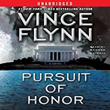 Pursuit of Honor: Mitch Rapp Series Audiobook by Vince Flynn Narrated by George Guidall