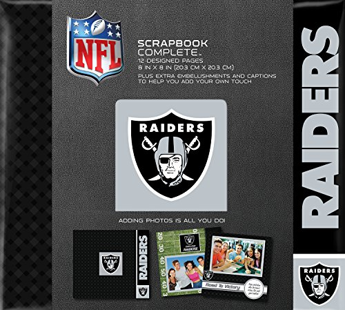 C.R. Gibson Scrapbook Complete Kit, Small, Oakland Raiders (N878518M) ()