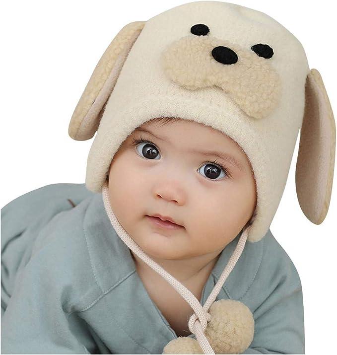 Recién Nacido Bebé Niño Niña Animales Orejas Sombrero Peludo Gorro ...