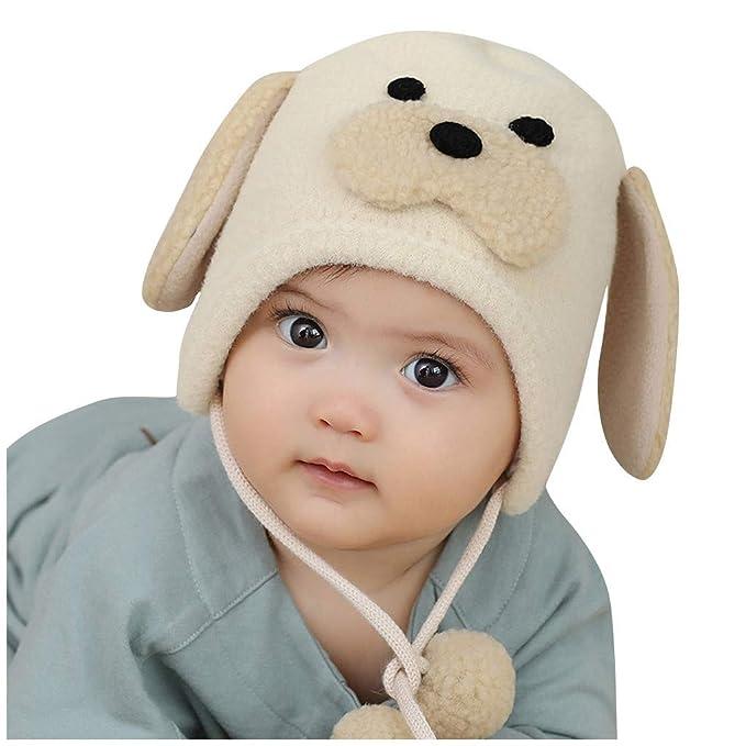Recién Nacido Bebé Niño Niña Animales Orejas Sombrero Peludo ...