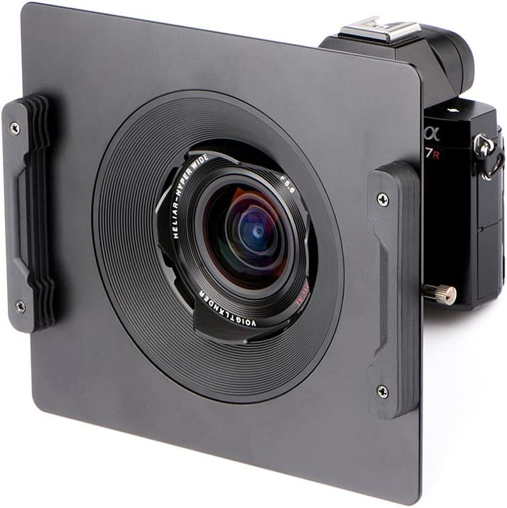 NiSi 150mm Aluminum Square Filter Holder Specially for VOIGTLANDER 10mm f//5.6 360 Degree Rotation,Without Vignetting Design