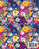 2020-2024 Five Year Planner: Happy Hippy Flowers