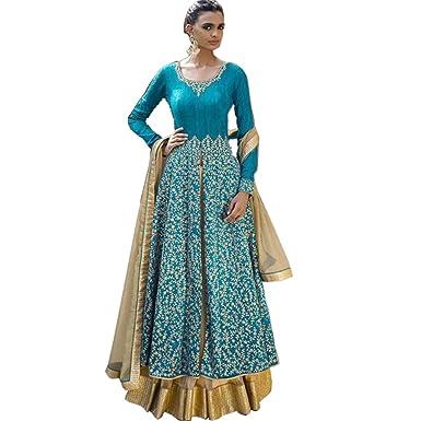 Indian Wedding Lehenga Choli Style With Eye Catching Blue Top ...