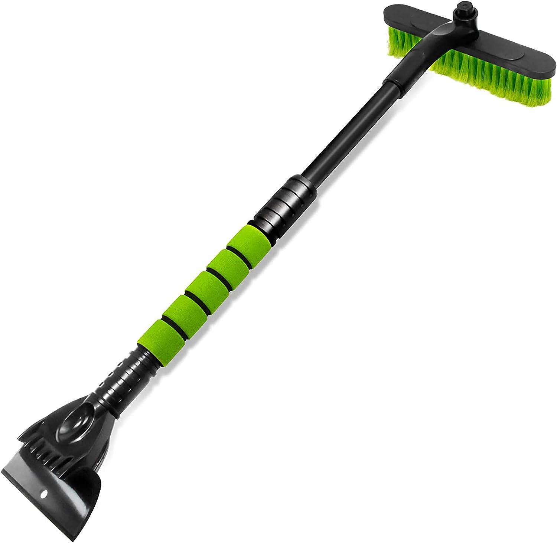 Armada Plus Snow Brush//Ice Scraper for Car Windshield Aluminium Extendable 16 to 24