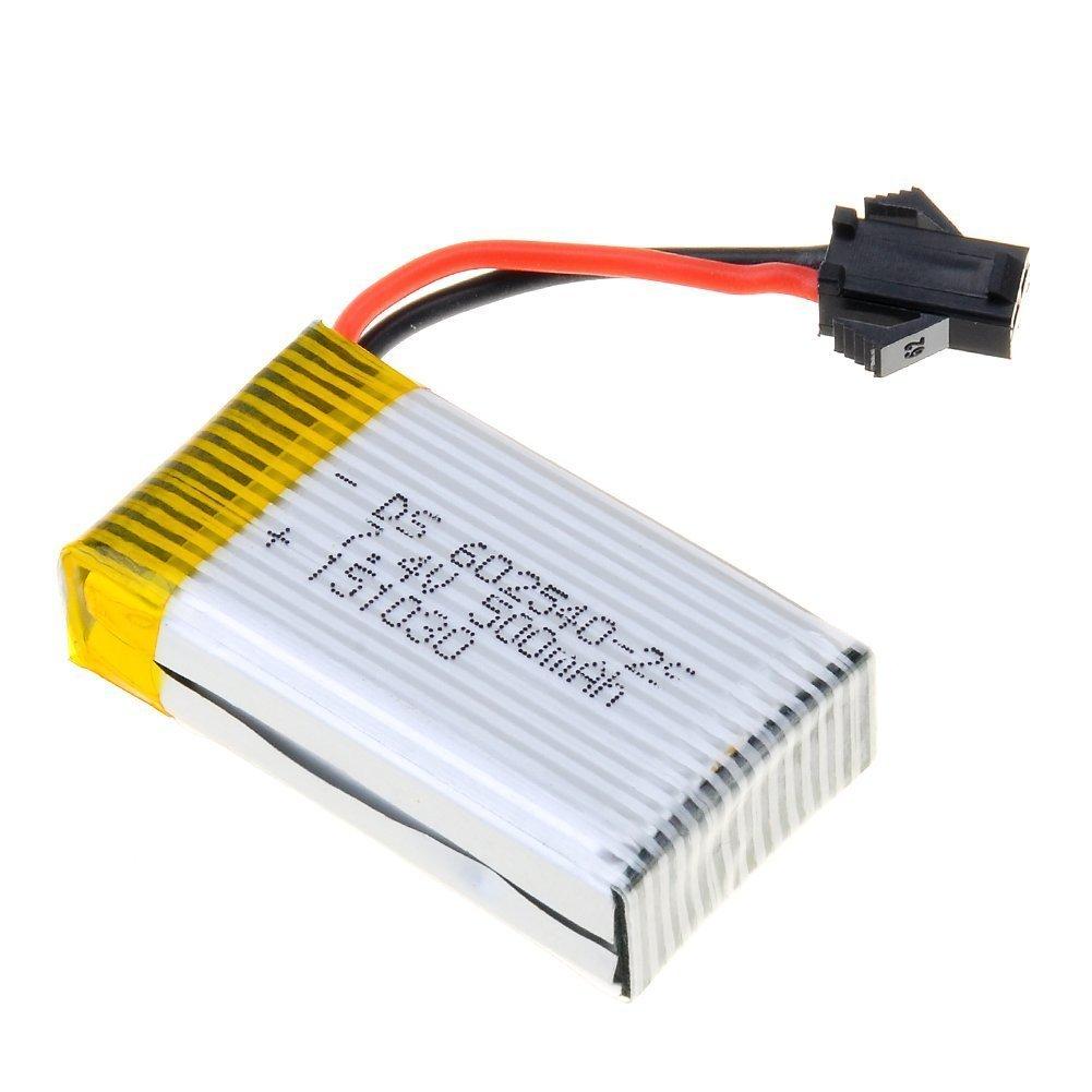 kngtoys® 1psc 7.4V 500mAh batería para JJRC H8D/H8C/F181 Hexacoper ...