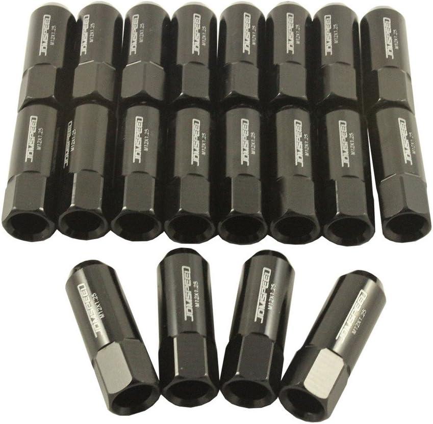 Godspeed 60mm Neo Type-X Aluminum Open Lug Nuts 20pcs M12x1.25 fits Nissan 350Z