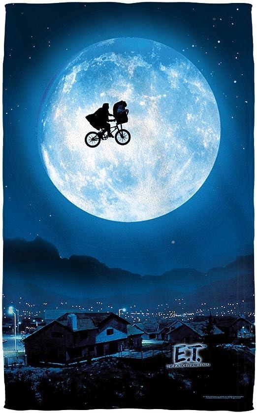 Dongxu Moon - E.T. - The Extra Terrestrial - Beach Towel: Amazon ...