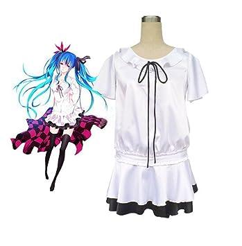 Vocaloid Hatsune Miku Cosplay del vestido del traje de ...