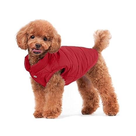 KAYLEY Dog Cozy Fleece Chaqueta Forrada en Invierno Abrigo de Invierno Paño para Mascotas Cálido y