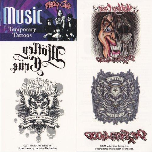 Mötley Crüe temporaires Tatouages Body