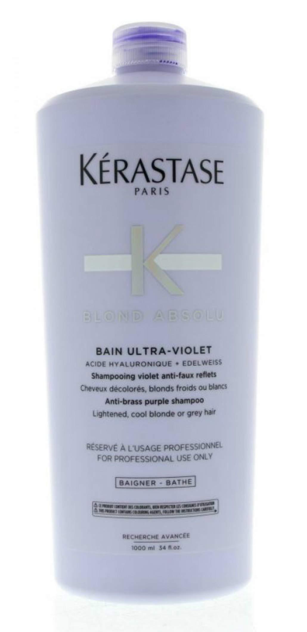 Kerastase Bain Ultra-Violet Purple Shampoo 34 oz