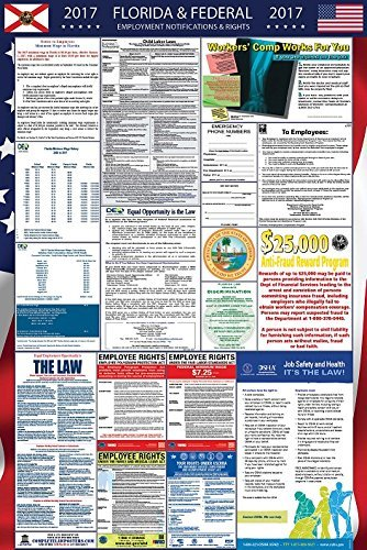 2017 Florida and Federal Labor Law Poster