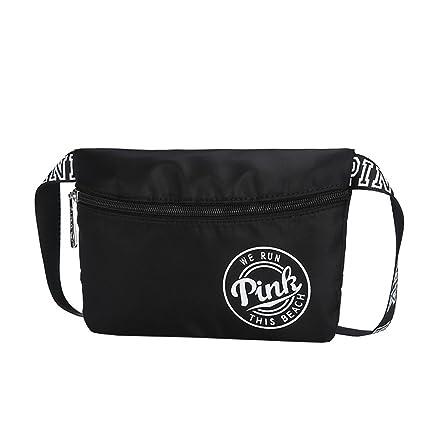 271723e65a NEW Travel Waist Pack Beach Women Bag Pink WATERPROOF VS Spring Break Bag  Fit Bag Black