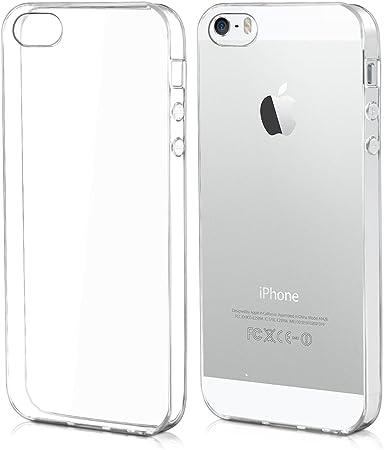 Kwmobile Hülle Kompatibel Mit Apple Iphone Se 1 Gen 2016 5 5s Handyhülle Handy Case In Transparent Elektronik