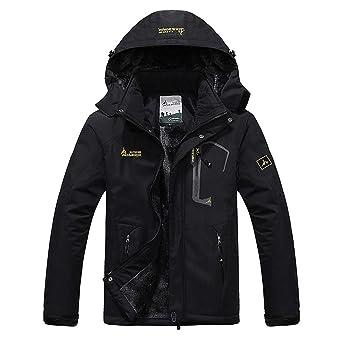 Mens Winter Jacket Men Waterproof Windproof Parka Male Snow Defence Thick Coats Mens Warm Windbreaker AM178 at Amazon Mens Clothing store: