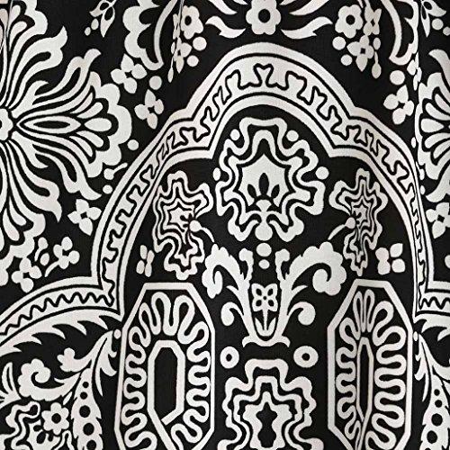 Courtes V Imprimé Nouveau À Noir Manches Robes Dress D'été Vintage Mode 2xl Taille Robe Élégant Casual Grande neck Mini S Chic Ethnique Adeshop Femmes Cocktail Plage 8fqP10gx