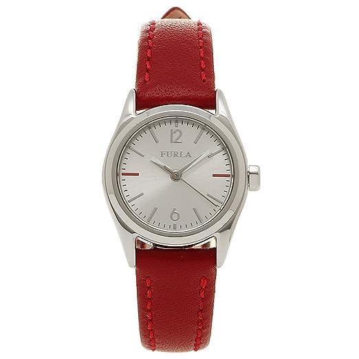 50237b6c2fd8 Amazon | [フルラ] 腕時計 FURLA レディース866616 r4251101507 シルバー レッド [並行輸入品] | 並行輸入品 ・逆輸入品・中古品(レディース) | 腕時計 通販