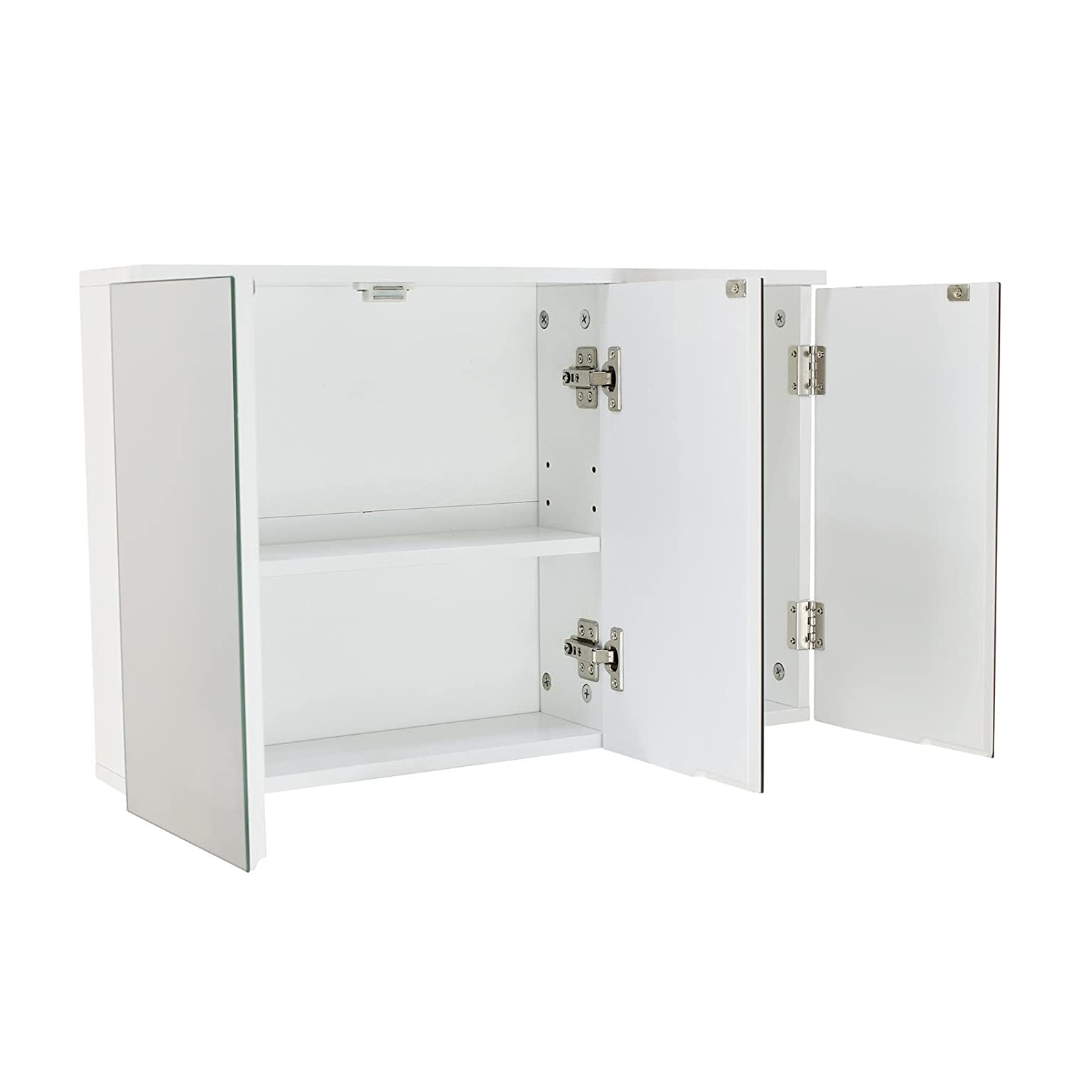 House and Homestyle Tripple Mirrored Door Wall cabinet