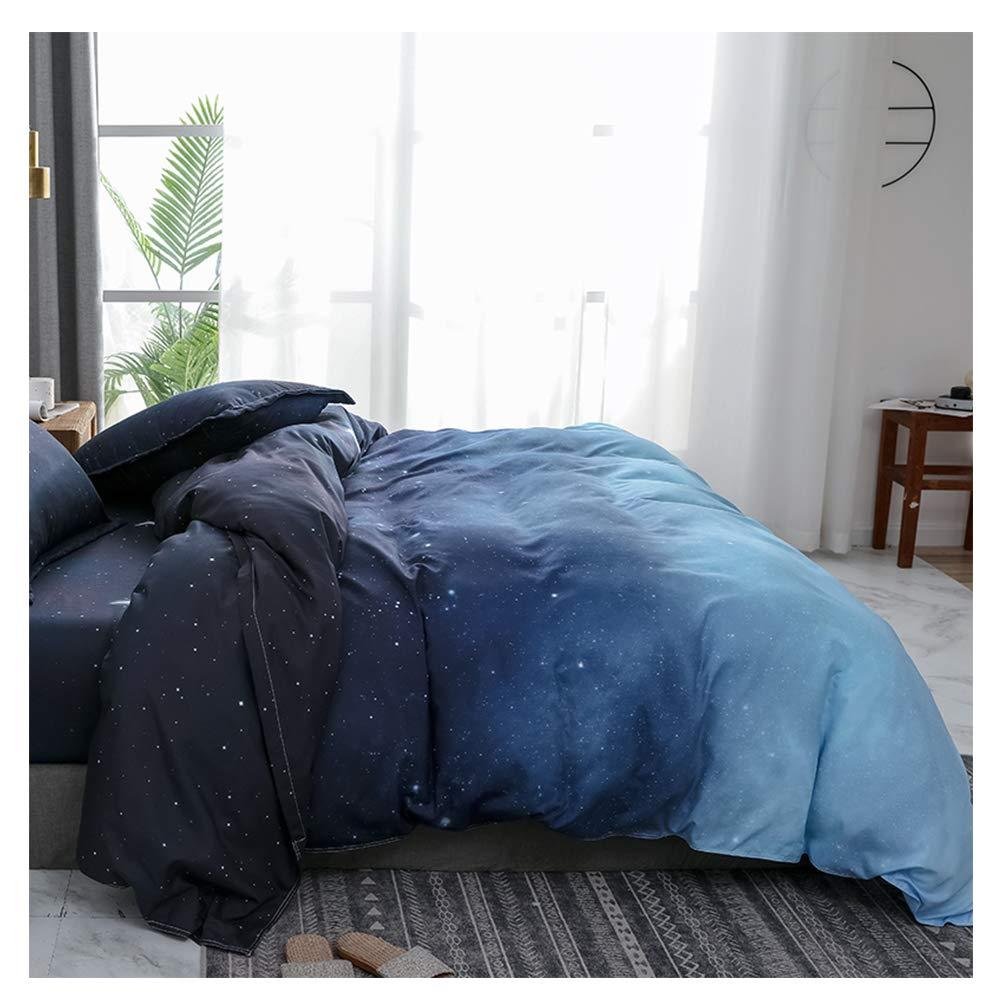 528c8ba4b04a5 Night Sky& xFF0C;bluee Twin,59''x79'' ORIHOME Bedding Set Twin Full ...