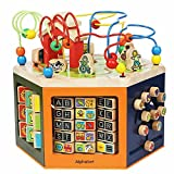 MEIDUO toys Children Wooden Around The Bead Box, Educational Toys, Baby Birthday Gifts