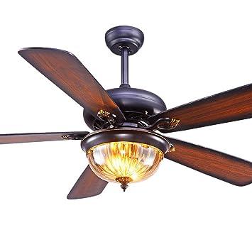 Amazon.com: AorakiLight - Ventilador de techo con luz (42 ...