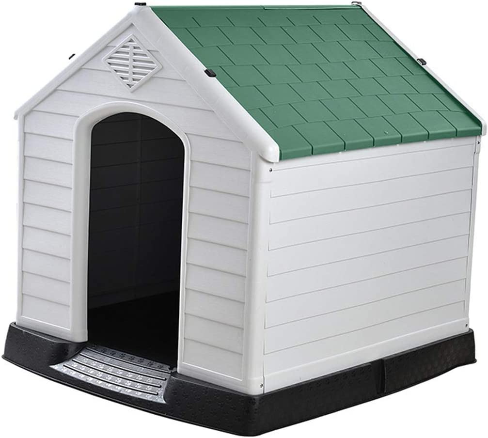 Dogs Houses Kennels Pens Cats Cages Pet Dog Kennel House Indoor and Outdoor Pet Supplies Dog Room Cat Nest Durable Extra Large Dog Kennel Color : Blue, Size : 73.6 * 66.5 * 69.5cm