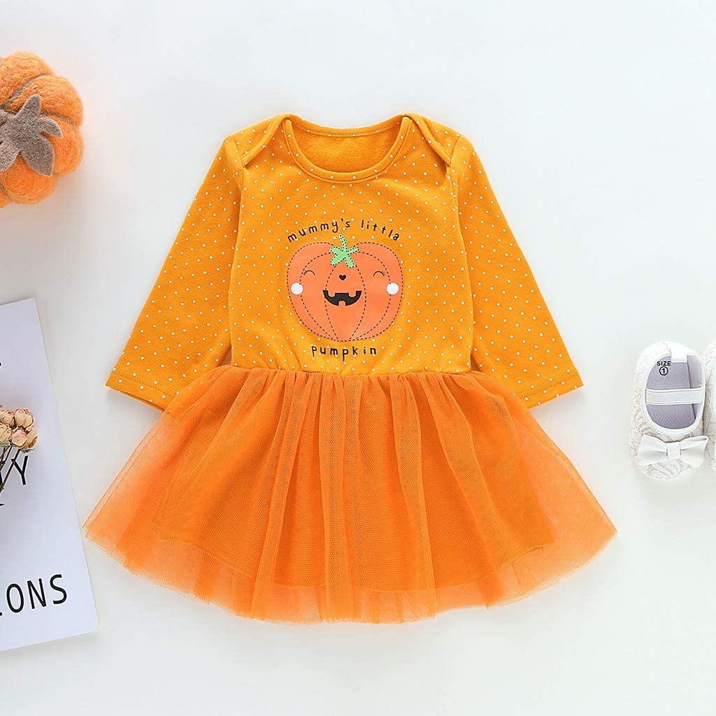 Vectry Vestido Niña Disfraz Niña Infant Baby Girls Halloween ...