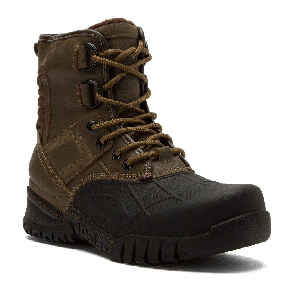 Pajar Mens Sander Boot, Black/Dk Brown, 44