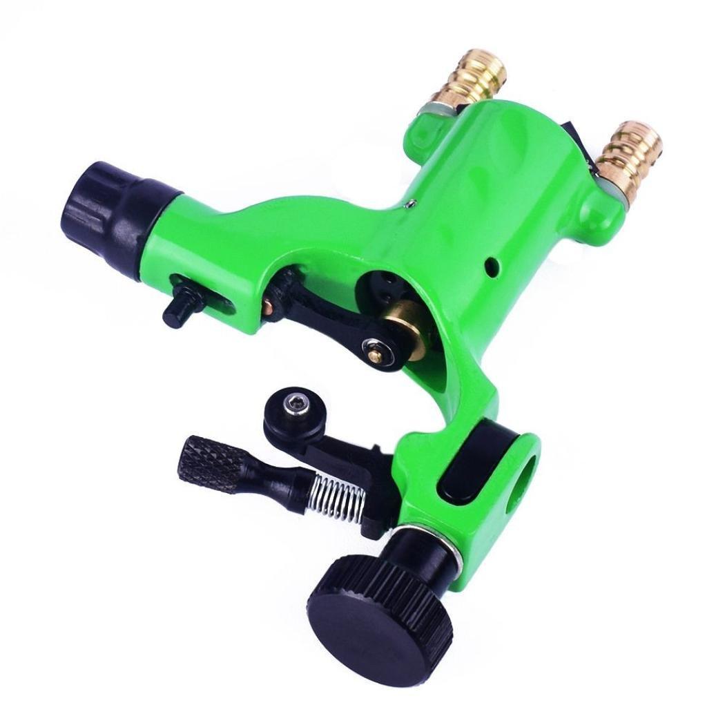 Tattoo Motor Machine, Hatop Professional Body Art Rotary Tattoo Motor Machine Gun Linner Shader Equipment (Green)