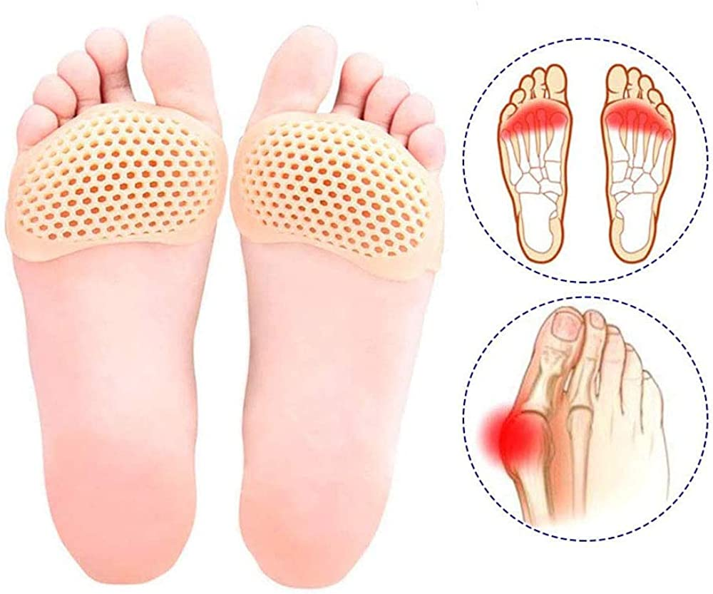 1 Pair of Insoles Anti-odor Breathable Soft Feet Pads for Sports Running Jumping