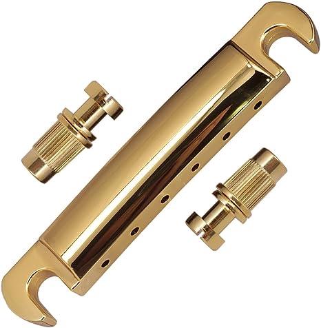 Sharplace 1 Set Pont Selle Guitare Tune-O-Matic Barre dArr/êt avec Cl/é pour Guitare Electrique Les Paul Epiphone