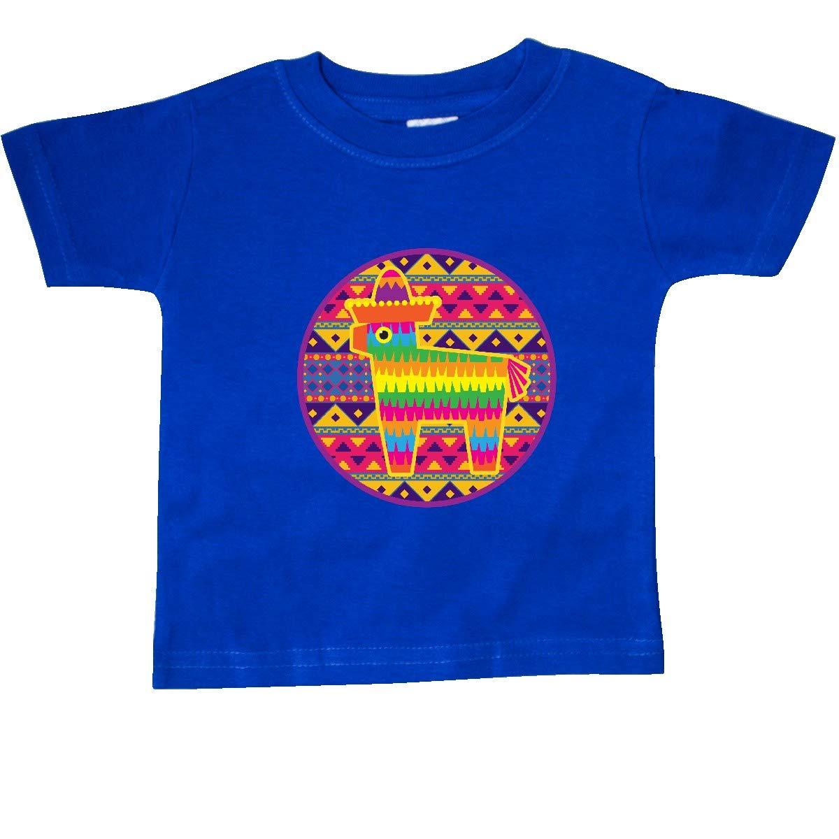 inktastic Pinata Cinco De Mayo Mexican Pattern Baby T-Shirt