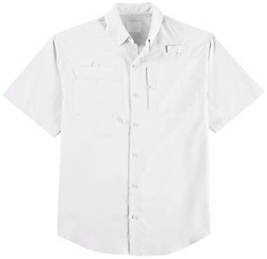 5cf8f0f2 Image Unavailable. Image not available for. Color: Reel Legends Mens Big & Tall  Saltwater Short Sleeve Shirt ...