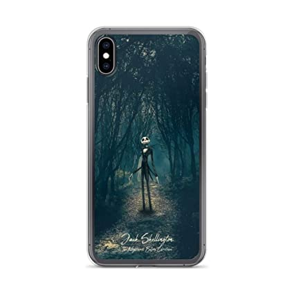 Iphone Xs Max Case Anti Scratch Motion Picture Transparent Cases Cover The Nightmare Before Christmas Jack Skellington Movies Video Film Crystal Clear