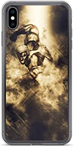 iPhone 6/6s Case Anti-Scratch Japanese Comic Transparent Cases Cover SNK Armored Anime & Manga Graphic Novels Crystal Clear