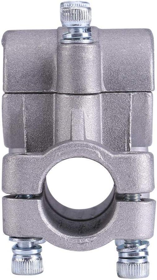 26mm Abrazadera del mango de la recortadora abrazadera del soporte de la manija de 26//28 mm Soporte de mano para la recortadora de desbrozadora Accesorio de tubo para cortadoras de c/ésped Soporte