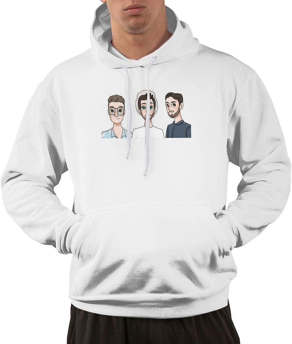 ZHANHING AJR Mens Long Sleeve Pullover Hoodie Pocket Sweatshirts
