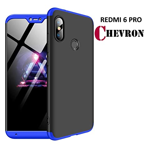 new style 1378e 8f84f Chevron Xiaomi Redmi 6 Pro Full Body 3-in-1 Slim Fit: Amazon.in ...