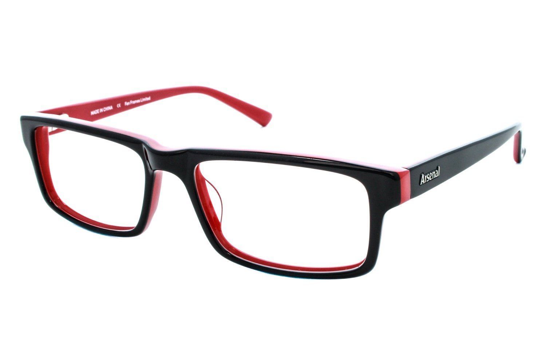 Fan Frames Arsenal FC - Retro Unisex Eyeglass Frames - Red