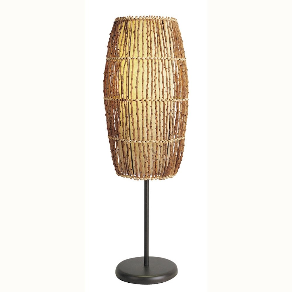 ORE International 31140T Rattan Table Lamp by ORE